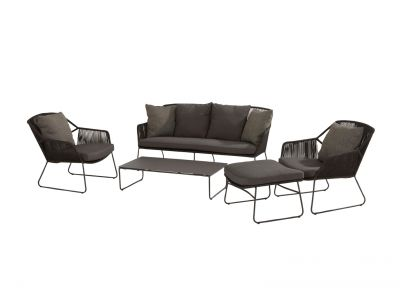 213521-213523-213524-213548  accor lounge set with footrest and dali table
