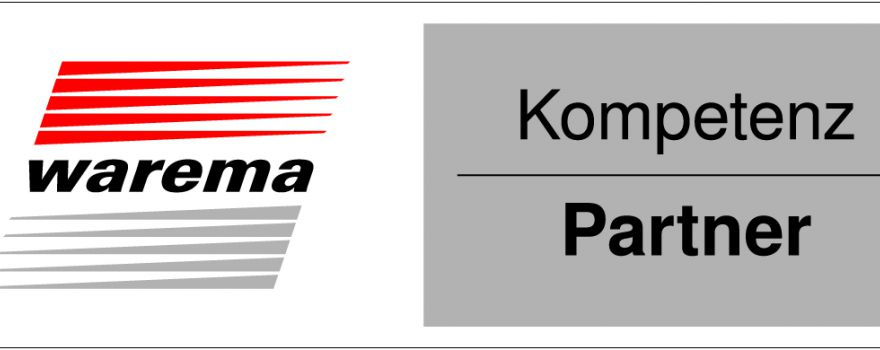 Warema logo kompetenzpartner quer 100mm 4c